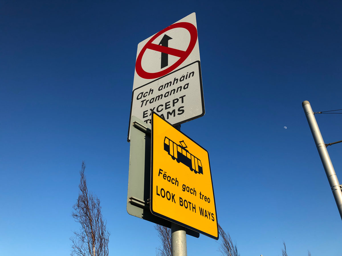 Image of Luas Sign